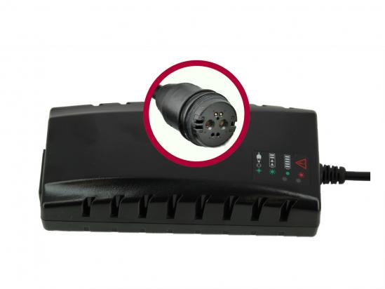 Charger BMZ Li-Ion 42V 3A plug Rosenberger 24492-3