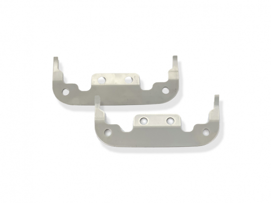Spacer UR-V7 mounting set stainless steel (V2A) 0,2 to 0,5mm