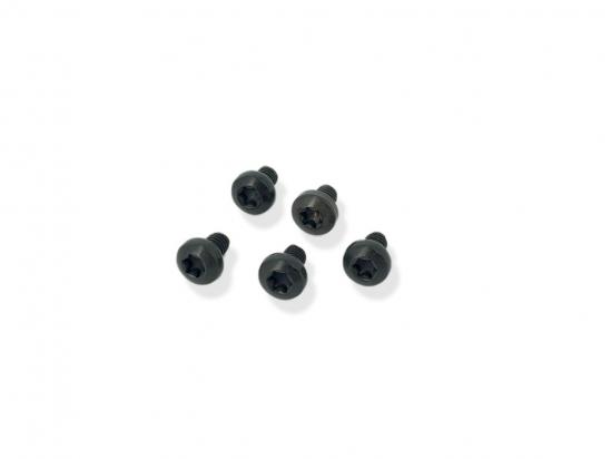 Screw lens head T20 Torx M4 black 30068