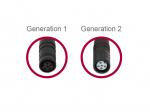 Adapterkabel für Bloks Generation 1 (Female) auf 2 (Female) 34397-2
