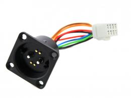 Kabel mit Ladebuchse für den ZEG Supercore Akku