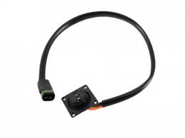 Kabelsatz Brose Akku Anschlusskabel Eukutec AS auf Rosenberger mit Wake 460mm 23993-20
