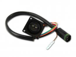 Kabelsatz Brose Akku Anschlusskabel AS auf Rosenberger mit Wake 350mm 23993-39