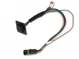 Kabelsatz Brose Anschlusskabel Supercore mit Ladebuchse (Stecker gerade) 23993-47