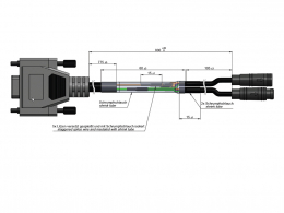 USB2CAN Y-cable HIGO 607412